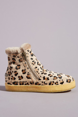 Laidback London Leopard Setsu Ankle Boots By Laidback London in Assorted Size 36