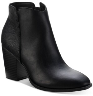 Sun + Stone Graceyy Booties, Created for Macy's Women's Shoes