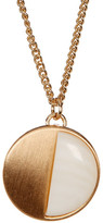 Stephan & Co Half Moon Stone Pendant Necklace