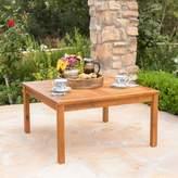 Loon Peak Waurika Outdoor Wood Coffee Table