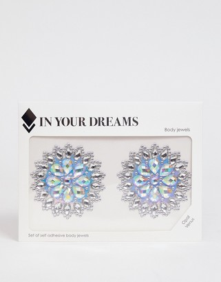 In Your Dreams Opal Venus All In One Body Jewels & Holographic Sticker