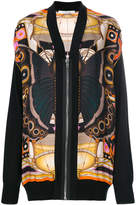 Givenchy butterfly print cardigan