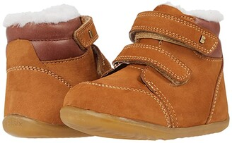 Bobux Step Up Timber Arctic (Infant/Toddler) (Mustard) Kid's Shoes