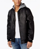 Lrg Men's Mastermind Hooded Bomber Jacket