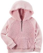 Carter's Raglan Sleeve Sherpa Pullover