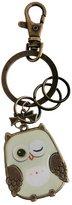 Generic Vintage Owl Bird Charm Pendant Bronze Lobster Clasp Keyring Key Chain Gift