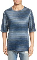 Current/Elliott Classic Fit Breton Stripe T-Shirt