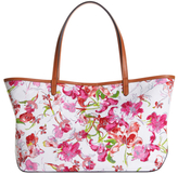 Brooks Brothers Canvas Floral Tote