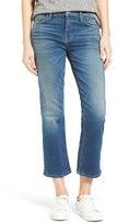 Current/Elliott Women's The Kick Ankle Flare Jeans