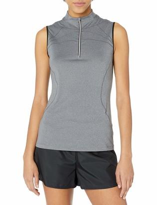 Cutter & Buck Women's Moisture Wicking UPF 50+ Sleeveless Milia Funnel Neck Active Shirt
