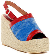 Jeffrey Campbell Burbank Slingback Wedge Sandal