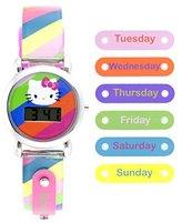 Hello Kitty Girl's Quartz Plastic Casual Watch, Color:Two Tone (Model: HK1793)