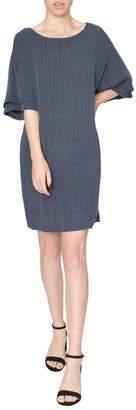 NATIVE YOUTH Blue Sack Dress