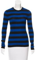 MICHAEL Michael Kors Striped Cashmere Top