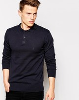 French Connection Long Sleeve Knit Jumper - Navy