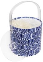 Sunnylife Navy/White Lennox Ice Bucket