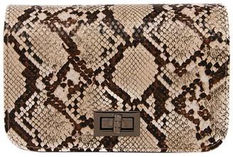 Goodnight Macaroon 'Jessy' Snake Print Crossbody Handbag (2 Colors)