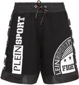 Philipp Plein Plein Sport Boxing Printed Shorts
