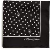 Dolce & Gabbana Polka-dot silk pocket square