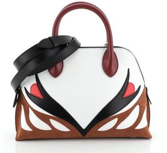 Lanvin Parrot Magot Bag Leather with Applique