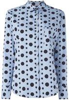 Paul Smith polka dot button down shirt