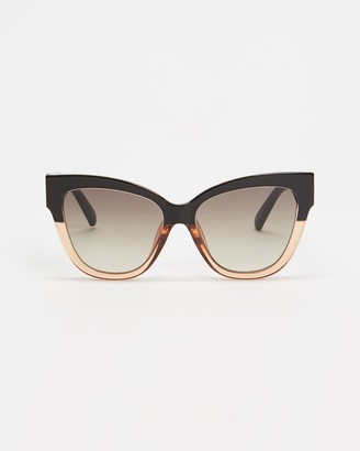 Le Specs Women's Black Oversized - Le Vacanze - Size One Size at The Iconic
