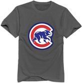 Enlove Chicago Cubs Casual T-shirt For Boyfriends Size XXL