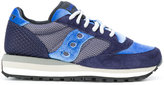 Saucony lace up trainers - women - Suede/Polyamide/Velvet/rubber - 36