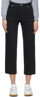 A.P.C. Black New Sailor Jeans