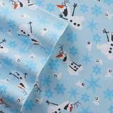 Disneyjumping Beans Disney's Frozen Olaf Flannel Sheet Set by Jumping Beans