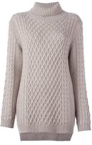 Chinti and Parker funnel neck cable jumper