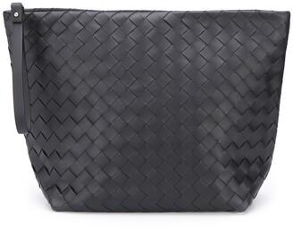 Bottega Veneta Woven Leather Clutch Bag