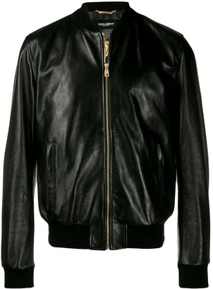 Dolce & Gabbana Fitted Bomber Jacket