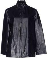 Mariella Burani Leather outerwear