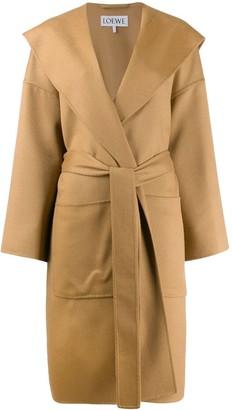 Loewe Belted Wrap Coat