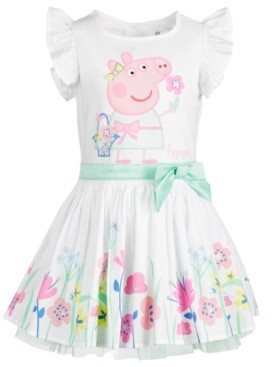 Peppa Pig Little Girls Spring Garden Dress