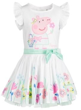 Peppa Pig Toddler Girls Garden Dress