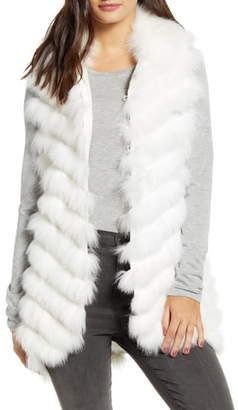 Love Token Genuine Fox Fur Vest