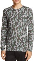 Michael Bastian Camouflage Cotton Sweater