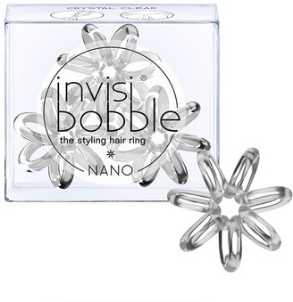 invisibobble The Styling Hair Ring 3 Pack Nano Crystal Clear