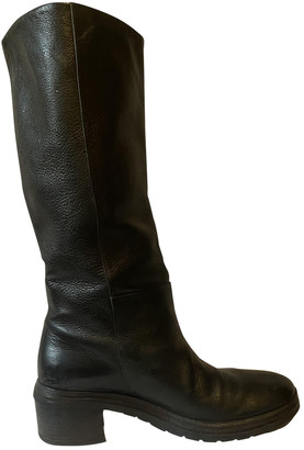 Marsèll Black Leather Boots