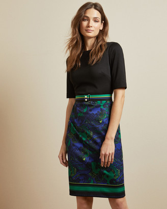 Ted Baker LYLIA Stargaze bodycon dress