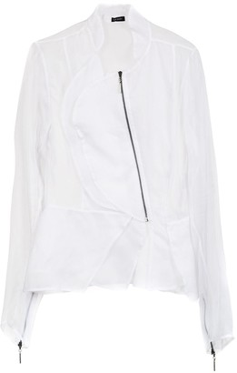 Tufi Duek Sheer Asymmetrical Jacket