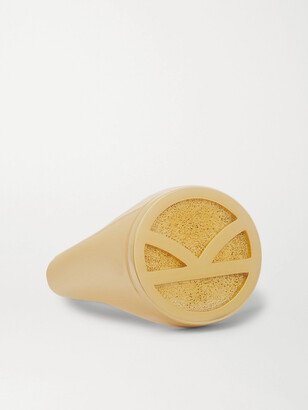 Kingsman + Deakin & Francis Gold-Plated Signet Ring