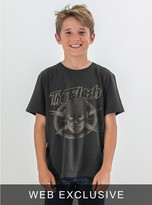 Junk Food Clothing Kids Boys Flash Tee-black Wash-xl