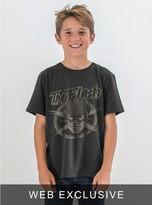 Junk Food Clothing Kids Boys Flash Tee-black Wash-xs