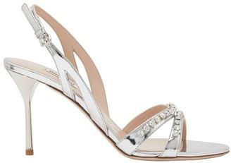Miu Miu Rhinestone sandals