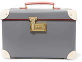 Globe-trotter Centenary 13'' Leather-trimmed Fiberboard Vanity Case - Ivory