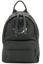 Chiara Ferragni Leather Backpack With Swarowsky Eye