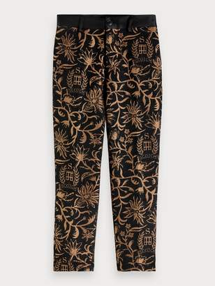 Scotch & Soda Jacquard Trousers Relaxed slim fit